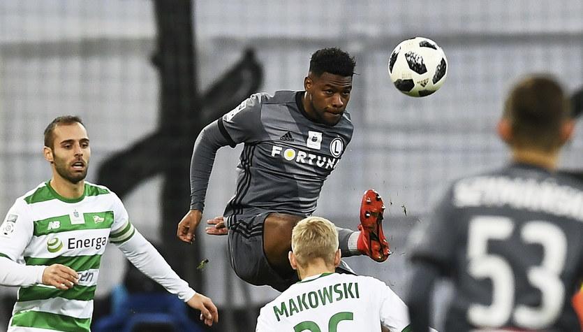 Lechia Gdańsk - Legia Warszawa 0-0 w 18. kolejce Ekstraklasy