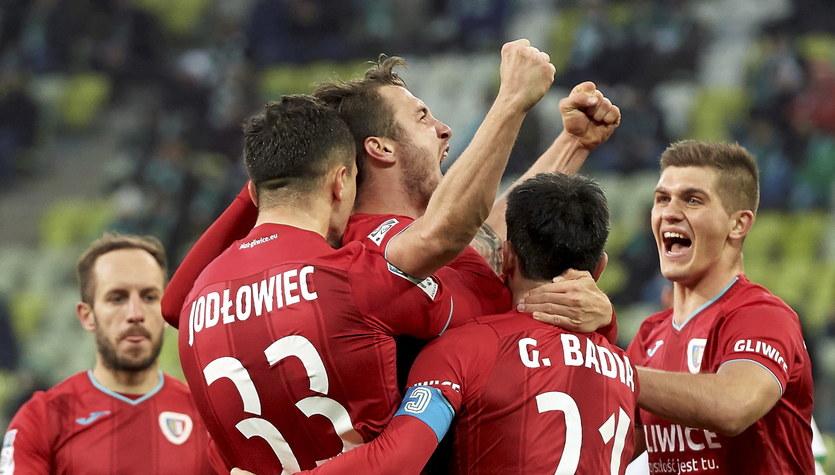 Lechia Gdańsk - Piast Gliwice 0-2 w meczu 23. kolejki Ekstraklasy