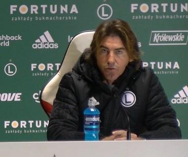 Lechia - Legia. Sa Pinto: Będziemy słabsi bez wsparcia kibiców. Wideo