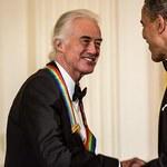 Led Zeppelin uhonorowani przez prezydenta
