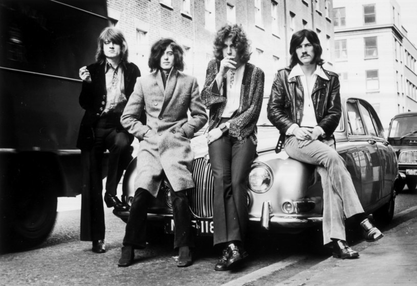 Led Zeppelin w grudniu 1968 r. w Londynie: od lewej John Paul Jones, Jimmy Page, Robert Plant i John Bonham /Dick Barnatt/Redferns /Getty Images