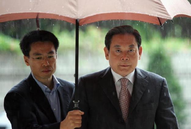 Lee Kun-hee (P), szef Samsung Electronics. Fot. Chung Sung /Getty Images/Flash Press Media