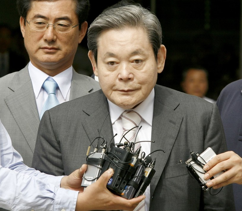 Lee Kun-hee, zdjęcie z 2008 roku /AFP