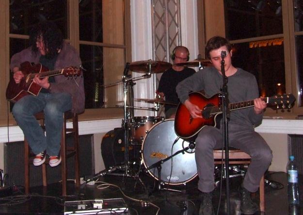 Lee Monday w Hard Rock Cafe /INTERIA.PL