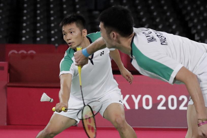 Lee Yang (z lewej) i Wang Chi-Lin /Mast Irham /PAP/EPA