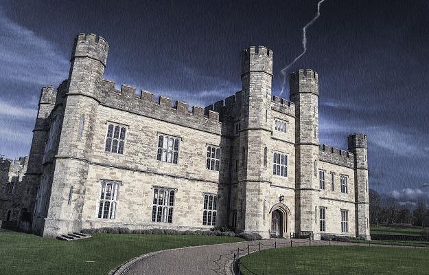 Leeds Castle, hrabstwo Kent (Wielka Brytania) /Lion's House