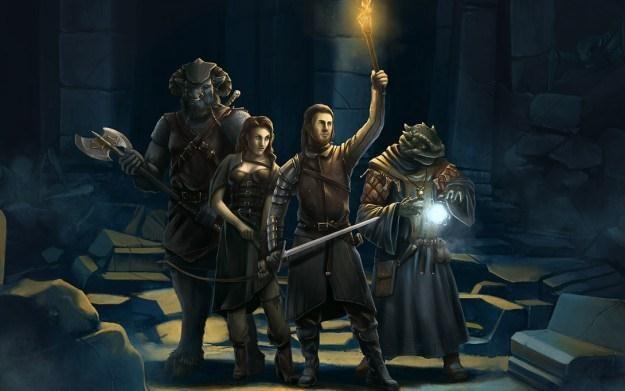 Legend of Gimrock - motyw graficzny /Informacja prasowa