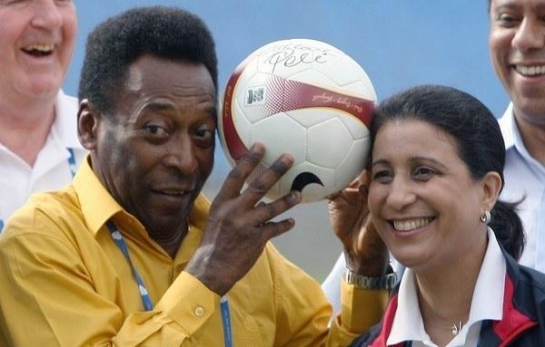 Legenda futbolu - Pele /AFP
