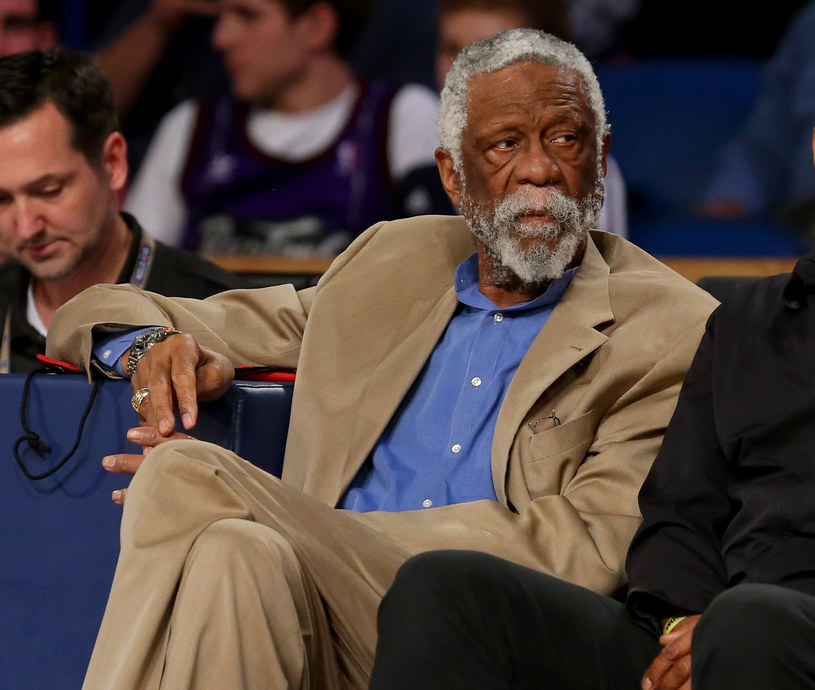 Legenda NBA - Bill Russell /AFP