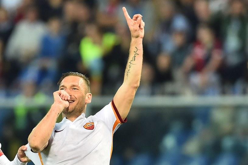 Legenda Romy Francesco Totti /AFP