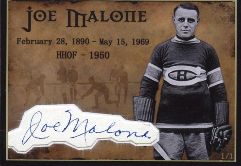 Legendarny Joe Malone /AFP