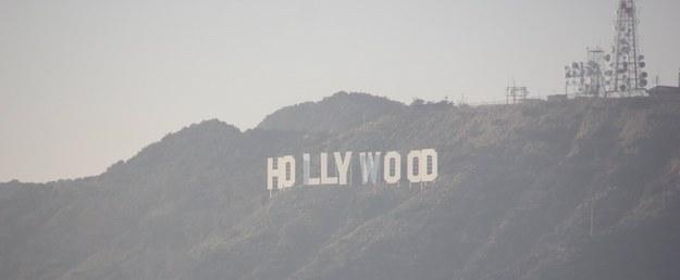 """Legendarny napis """"Hollywood"""" /Paweł Żuchowski, RMF FM /RMF FM"""