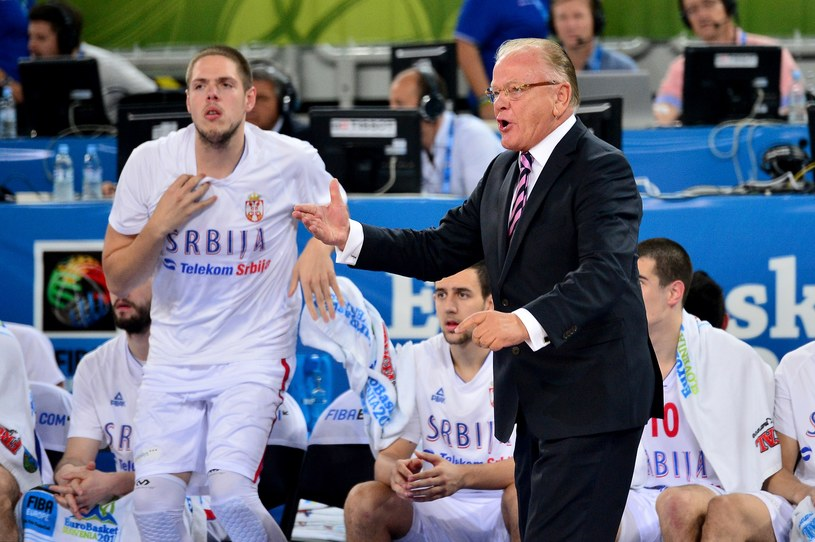 Legendarny szkoleniowec Duszan Ivkovic /AFP
