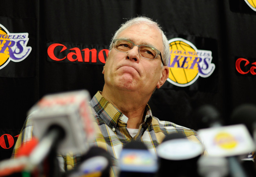 Legendarny trener Lakersów Phil Jackson /AFP