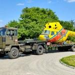 Legendy PRL-u w akcji - unikatowy transport Mi-2 do Muzeum Ratownictwa