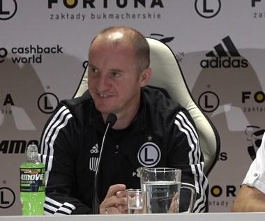 Legia. Aleksandar Vuković o szansach w rewanżu. Wideo