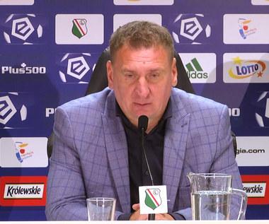 Legia-Górnik 3-1. Kamil Kiereś: Bramki strzeliliśmy sobie sami. Wideo