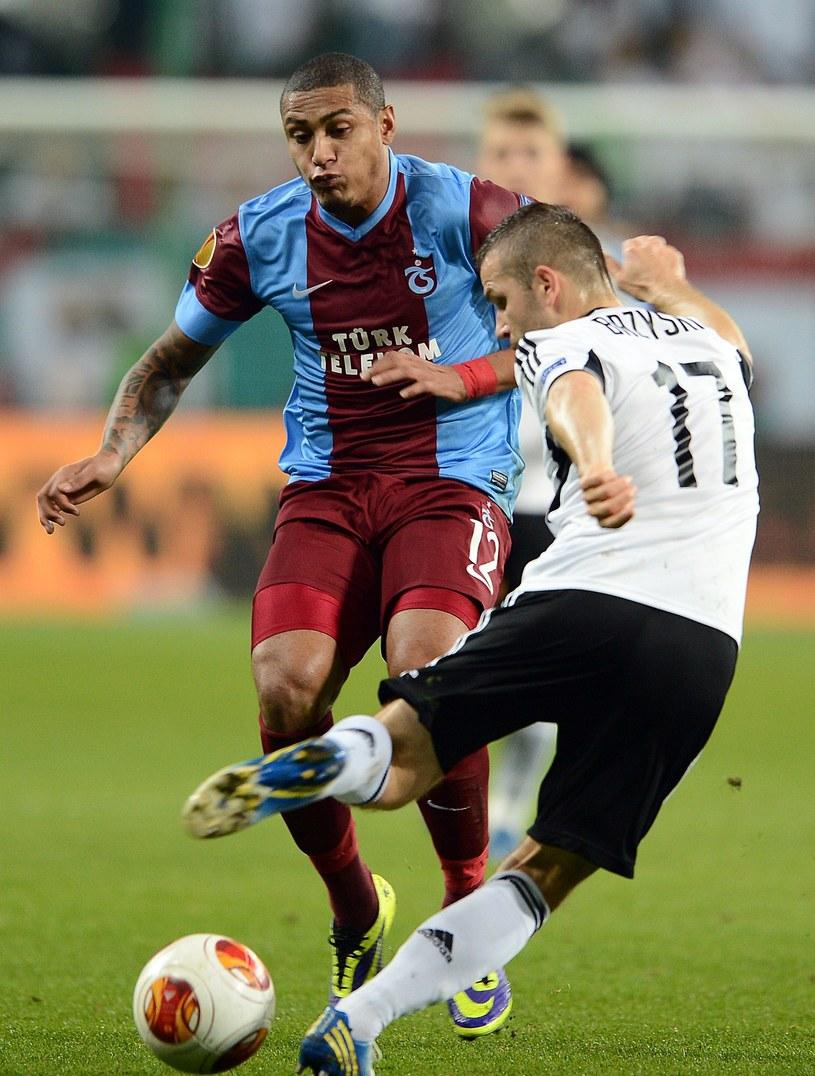 Legia grała już z Trabzonsporem w poprzedniej edycji Ligi Europejskiej /AFP