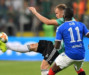 Legia. Igor Lewczuk po meczu z Rangers FC (0-0). Wideo
