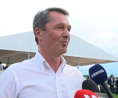 Legia. Jacek Zieliński: Legia w LM? Jestem optymistą. Wideo