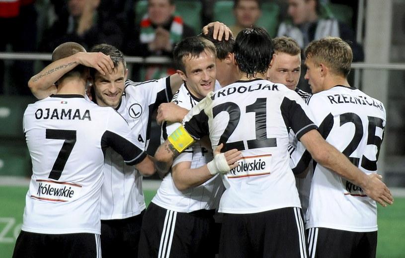 Legia już wcześniej zapewniła sobie pierwsze miejsce po fazie zasadniczej /Fot. Bartłomiej Zborowski /PAP