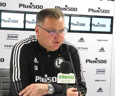 Legia-Lech. Czesław Michniewicz: Potrzebujemy punktów jak tlenu. Wideo
