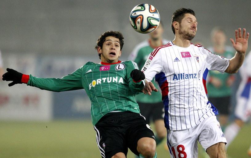 Legia nie dała szans Górnikowi Zabrze. Czy w Łęcznej zainkasuje komplet punktów? /Fot. Andrzej Grygiel /PAP