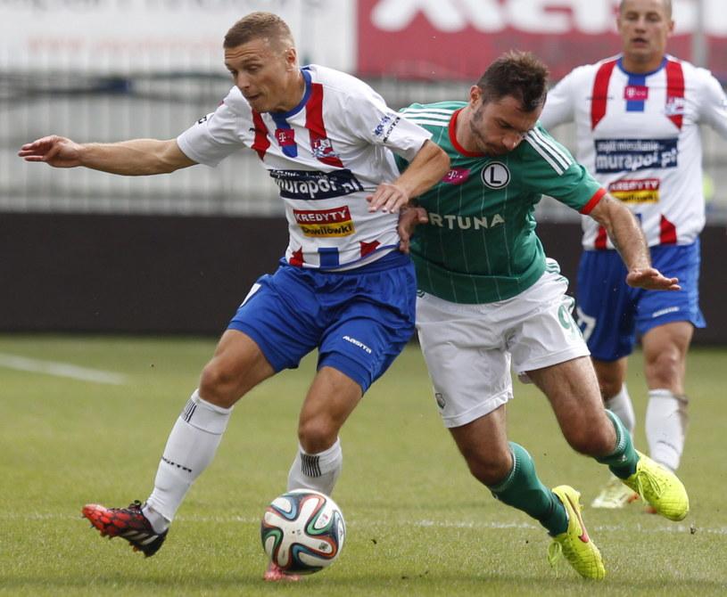 Legia niespodziewanie przegrała z Podbeskidziem /Fot. Andrzej Grygiel /PAP