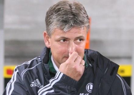 Legia odpadła, a Dariusz Wdowczyk ma o czym myśleć... Fot. Tomasz Markowski /Agencja Przegląd Sportowy