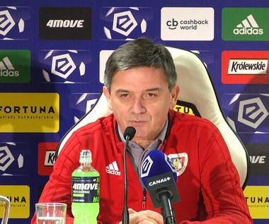 Legia-Piast 1-2. Waldemar Fornalik: Na pewno czerwona kartka miała wpływ na przebieg meczu. Wideo