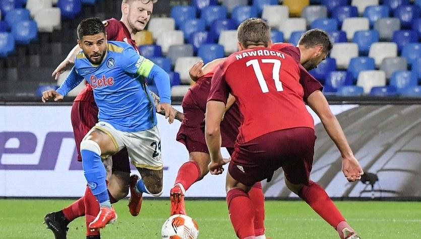 Legia pokonana w Neapolu. Włoskie media: To arcydzieło