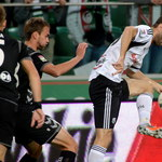 Legia - Polonia 1-1 w meczu 5. kolejki Ekstraklasy