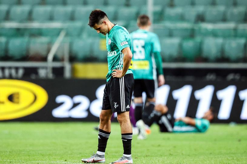 Legia poszuka szansy na rehabilitację po bolesnym zakończeniu batalii o Ligę Mistrzów /Newspix