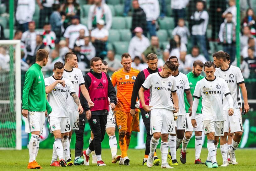 Legia przegrała u siebie 1-4 z Wisłą Płock. Taki rezultat ostatni raz przy Łazienkowskiej padł 46 lat temu... /Łukasz Grochala /Newspix