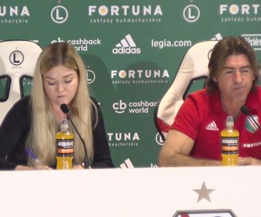 Legia. Sa Pinto: Pogoń jest bardzo mocną drużyną. Wideo