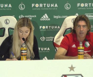 Legia. Sa Pinto przed meczem z Pogonią. Wideo