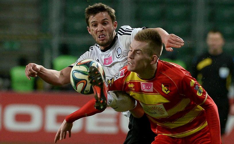 Legia sensacyjnie przegrała na Łazienkowskiej z Jagiellonią /Fot. Bartłomiej Zborowski /PAP