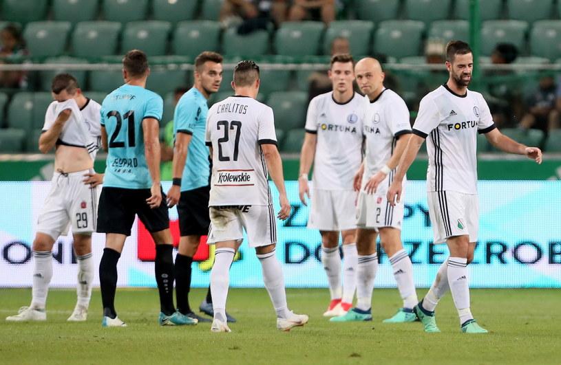 Legia sensacyjnie przegrała z mistrzem Luksemburga /Leszek Szymański /PAP