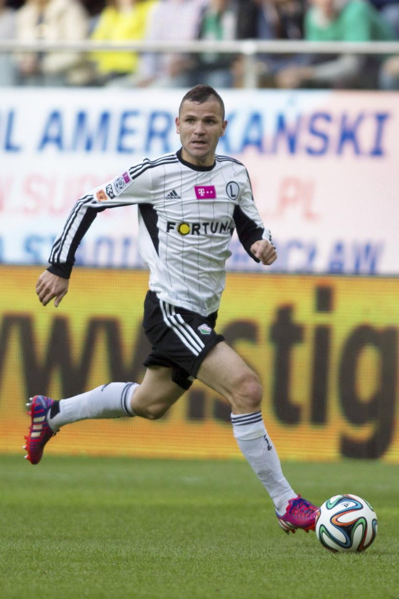 Legia słabo rozpoczęła rundę finałową. Na zdjęciu Tomasz Brzyski /Aleksander Koźmiński /PAP