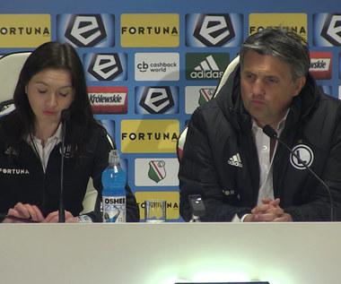 Legia - Śląsk 4-1. Jozak po meczu. Wideo