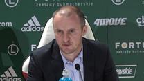 Legia. Vuković: Nie zamykaliśmy Łazienkowskiej. Wideo
