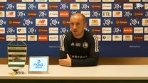 Legia. Vuković po meczu z Lechią Gdańsk (0-0). Wideo
