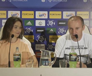 Legia. Vuković po zwycięskim meczu z Cracovią. Wideo