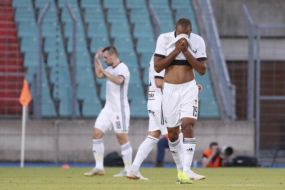 Legia w el. Ligi Europy okazała się gorsza od FC 91 Dudelange /JULIEN WARNAND /PAP/EPA
