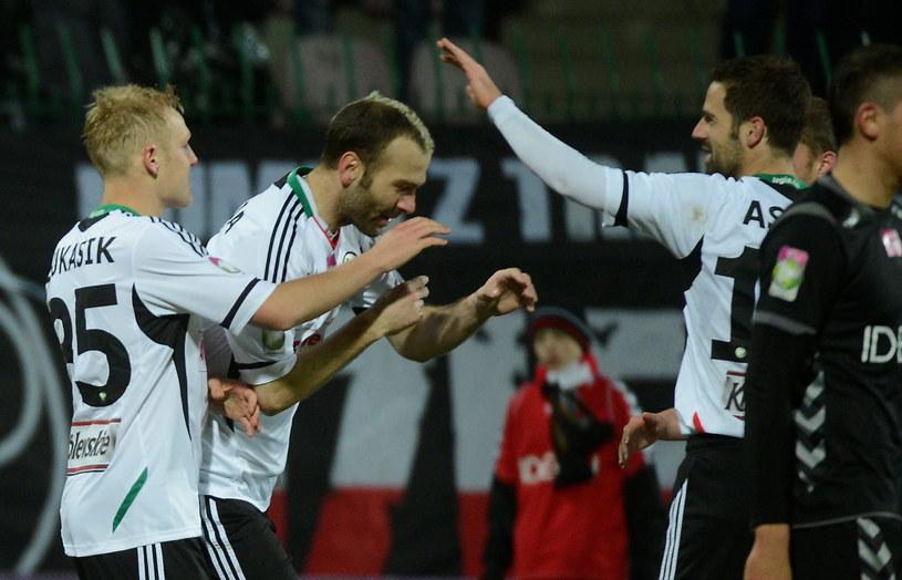 Legia w rundzie wiosennej przegrała tylko jedno spotkanie /Fot. Bartłomiej Zborowski /PAP