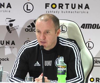 Legia Warszawa. Aleksandar Vuković odpowiada Interii o Pekharcie: Nie przyleciał do nas z plaży. Wideo