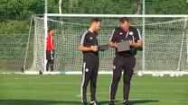Legia Warszawa. Czesław Michniewicz rozpoczął pracę z Legią. Wideo