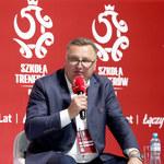 Legia Warszawa. Czesław Michniewicz wychwala prezesa Rakowa Częstochowa