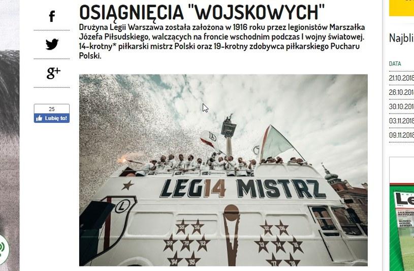 """Legia Warszawa czuje się być mistrzem Polski z 1993 r., po słynnej """"niedzieli cudów"""". /"""