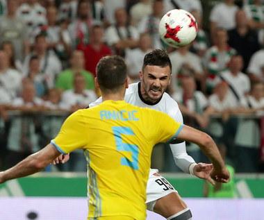 Legia Warszawa - FK Astana 1-0 w III rundzie eliminacji Ligi Mistrzów